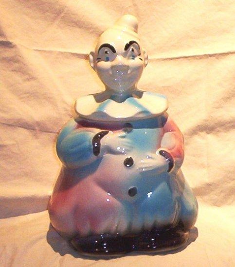 SOLD! American Bisque Clown Cookie Jar 50�s