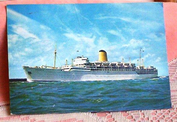 Cruise Ship Arcadia Vintage Maritime Post Card FREE SHIPPING!