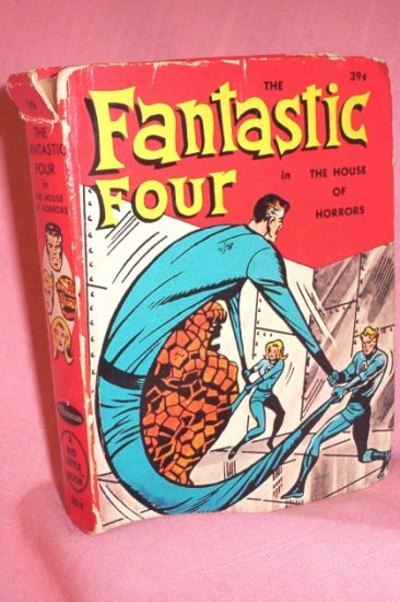 """Big Little Book: The Fantastic Four in """"The House of Horrors"""" Hard bound -1968 FREE SHIPPING!"""