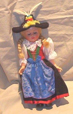 Heidi International European Doll FREE SHIPPING!