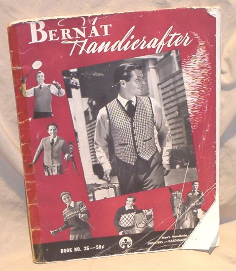 Bernat Handicrafter Men�s Handknits Sweaters�Cardigans and Pullovers FREE SHIPPING!