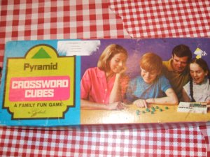 Pyramid Crossword Cubes  Box only