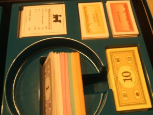 Parker Brothers Deluxe Monopoly Plastic Insert Parts Holder