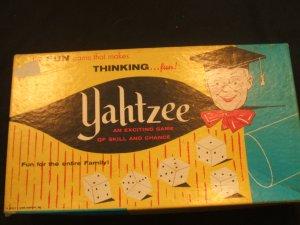 Yahtzee 1956 Box only