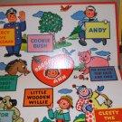 Raggedy Ann Game 1954 Board and Box