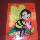 Built Rite Furry Inlaid Puzzle Honey Bee #129