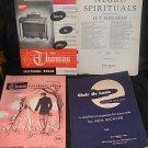 Four Vintage Organ Music Books 50's