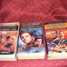 3 Star Trek Novels Deep Space Nine #1 #4 #8 1993