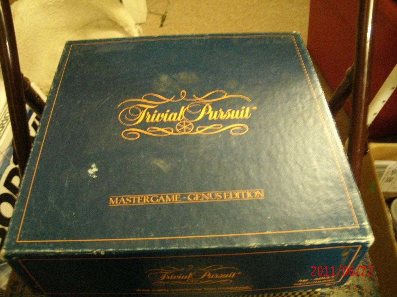 Trival Pursuit - Master Game - Genus Edition -  1981 - Complete