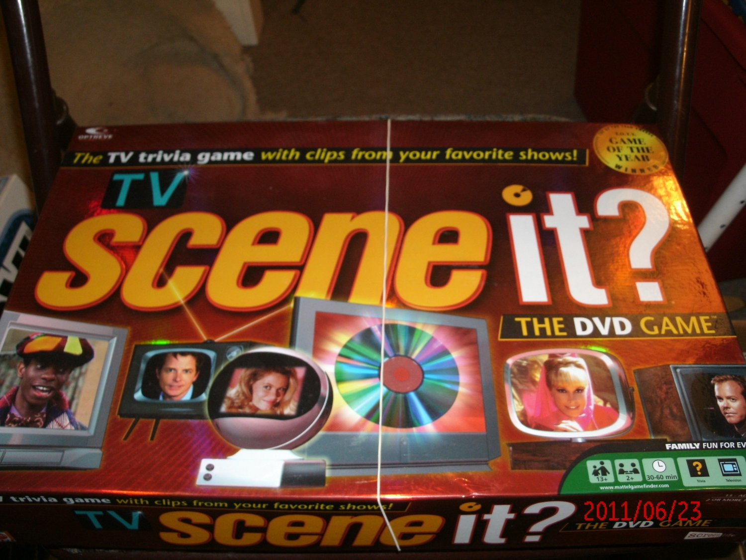 TV Scene it? DVD Trivia Game 2005 - Complete