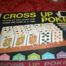 Vintage 1968 Cross Up Poker Game Milton Bradley