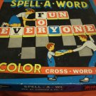 Vintage Spell-A-Word Game NICE Letters are still sealed