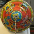Ohio Art Tin Litho Spinning Top Train and Kids