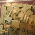 Scrabble Wood Tile Letter U