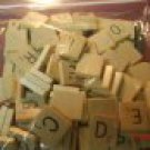 Scrabble Wood Tile Letter I