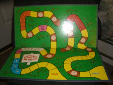 Vintage 1971 Good Ole Charlie Brown Game Board ONLY
