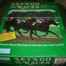 Let's Go To The Races VCR Game Complete