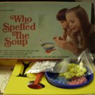 Vintage Who Spelled The Soup Game Almost Complete