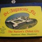Vintage Souvenir Photo Book - 10 Color Photos - St. Augustine Florida