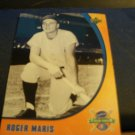 2005, Upper Deck - Roger Maris - Sunkist - Baseball Card - Fresh Snacks