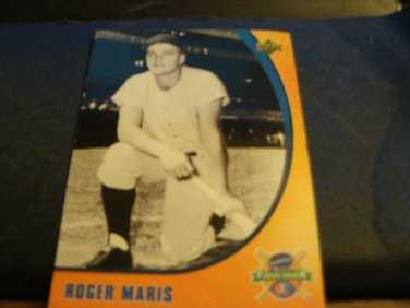 2005 Upper Deck Roger Maris Sunkist Baseball Card