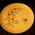 Vintage Pinecone Design Dinner Plate like Grandma's