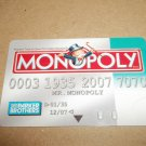 Monopoly Electronic Banking Game Part - 1 Bankcard -Teal