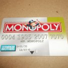 Monopoly Electronic Banking Game Part - 1 Bankcard -Green