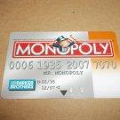 Monopoly Electronic Banking Game Part - 1 Bankcard - Orange