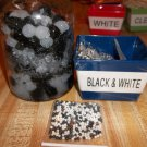 Water Beads - Gel Beads - Plant Soil Beads 1 bag Black & White