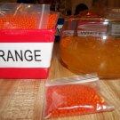 Water Beads - Gel Beads - Plant Soil Beads 1 bag Orange