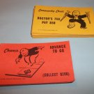Parker Brothers Monopoly 12 Chance cards & 11 Comm chest cards
