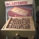 VINTAGE 1993 Wood Labyrinth Game by Cardinal