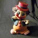 1960's? Vintage Hard Plastic Clown Bank