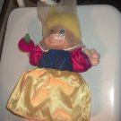 "Snow White Troll Doll 12"" With Apple Still Has Plastic Bag on Head Original Clothes"
