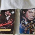 2 Michael Jackson Paperbacks Michael! Mark Bego Michael Jackson Thrill C. Latham