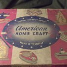 1930's American Home Craft Set - Victory Economy Outfit - Most of it, still here