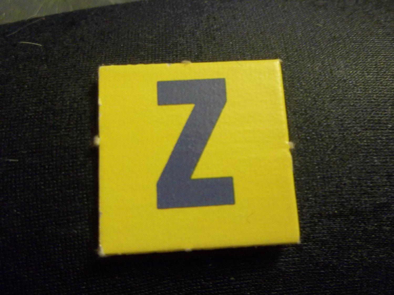 Scrabble Junior  1989  Letter Z  One Tile Only