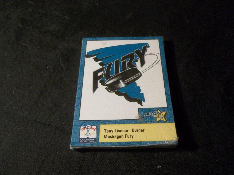 1993-94 Muskegon Fury Hockey Trading Cards Sealed Package McDonalds Promo item