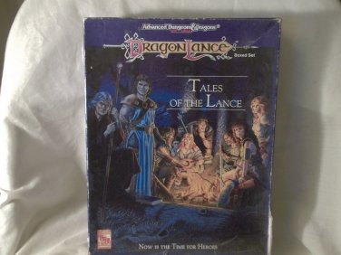 AD & D DragonLance, Boxed Set, By TSR, 2nd Edition, Appears Unplayed, 1992, Adult