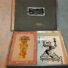 One Deck of Vintage Playing Cards -  Duratone,  in Double Deck Box, Complete