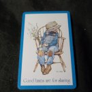 Vintage Holly Hobbie Swap Card, Good Times are for Sharing, (1) ONE Card Only