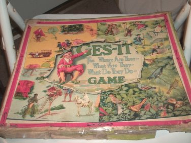 Very Old GES-IT Game from Knapp Electric 1920's?