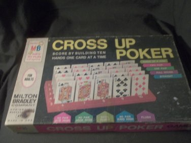 1968 Milton Bradley Cross Up Poker #4945.Complete