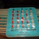25 Blue Bingo Slider Fingertip Cards