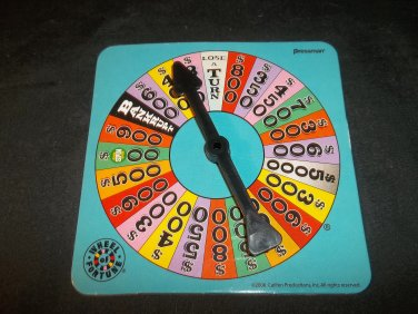 Spinner ONLY (for Pressman Wheel of Fortune 25th Anv in Tin Box)