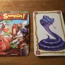 Snorta !  Game PART ONLY!  ONE game card ONLY!  Snake  Card
