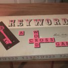 KeyWord  -  A Crossword Game - 1953 - Similar to Scrabble