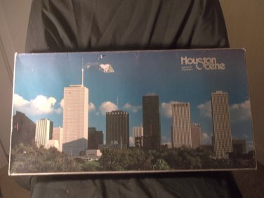 1980 Houston Scene  - A local Monopoly Style Game  Complete