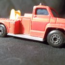 MATCHBOX SUPERFAST NO 13 FIRE ENGINE SNORKEL IN RED 1977